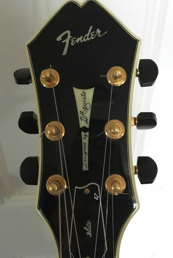 fender master series hollow body guitar tuning head